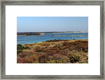 Mudeford Harbour Framed Print by Chris Day
