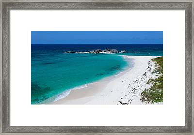 Mudjin Harbour Framed Print