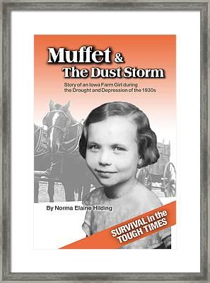 Muffet Book Cover Art Framed Print
