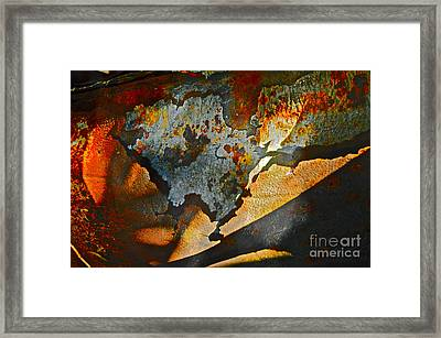 Muffler Picking Framed Print