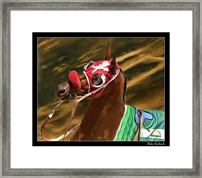 Mufv It On Over The Horse Framed Print by Blake Richards