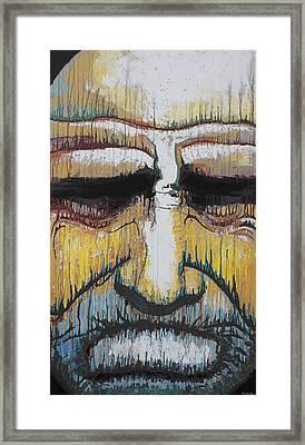 Muggs Framed Print by Kate Tesch