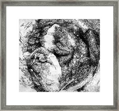 Mugsy The Pup Framed Print