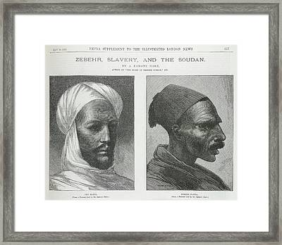 Muhammad Ahmed Framed Print by British Library