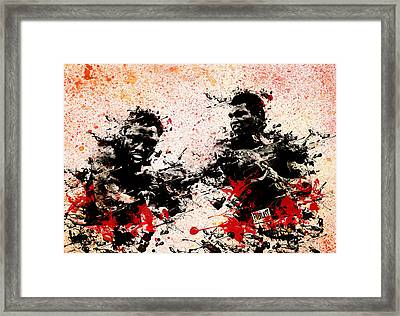 Muhammad Ali 2 Framed Print by Bekim Art