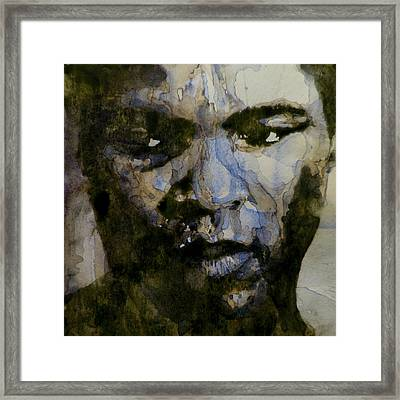 Muhammad Ali  A Change Is Gonna Come Framed Print