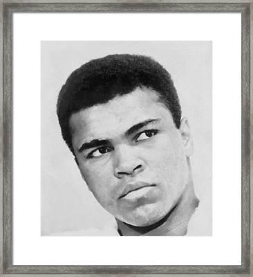Muhammad Ali Framed Print by Dan Sproul