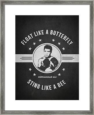 Muhammad Ali - Dark Framed Print