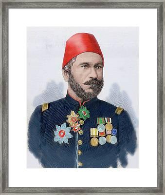 Muhammad Ali Pasha (b Framed Print by Prisma Archivo