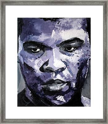 Muhammad Ali Framed Print