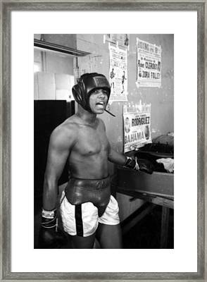 Muhammad Ali  Framed Print by Retro Images Archive