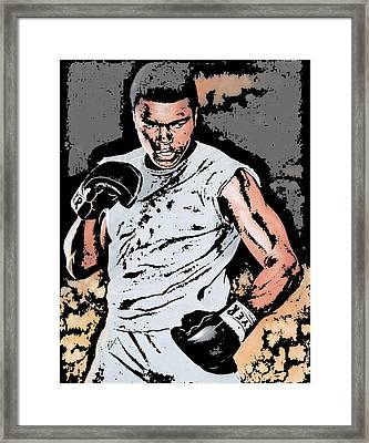 Muhammad Ali Framed Print by Tanysha Bennett-Wilson