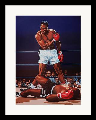 World Heavyweight Boxing Champion Framed Prints