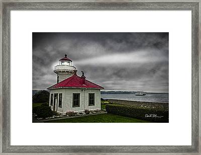 Mukilteo Lighthouse Framed Print by Charlie Duncan