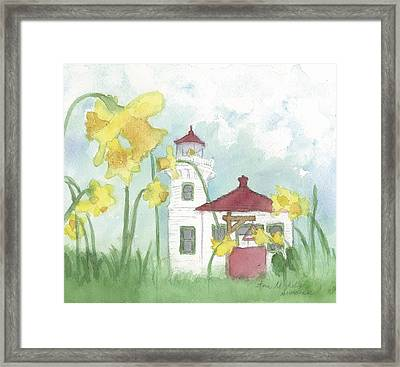 Mukilteo Lighthouse From A Different Perspective Framed Print