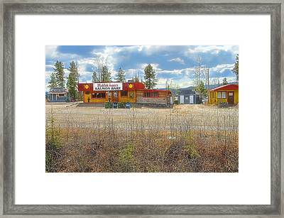 Framed Print featuring the photograph Mukluk Annie's Salmon Bake by Dyle   Warren