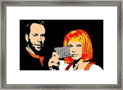 Mul-ti-pass Framed Print by Jera Sky