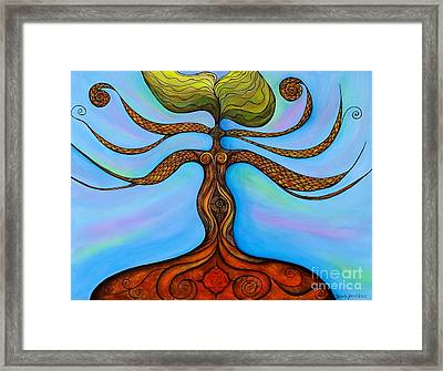 Muladhara Framed Print by Deborha Kerr
