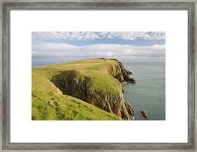 Mull Of Galloway Scotland Framed Print