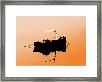 Mullet Boat #1 Framed Print by John Bennett