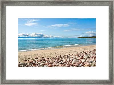 Mulrany Strand - County Mayo - Ireland Framed Print