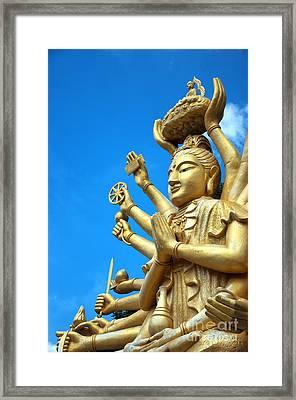 Multi Armed Buddha 01 Framed Print