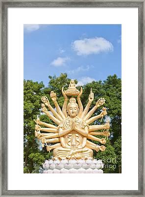 Multi Armed Buddha 04 Framed Print