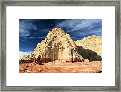 Multi-colored Mound Framed Print