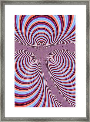 Multi-coloured Abstract Design Framed Print by Paul Sale Vern Hoffman