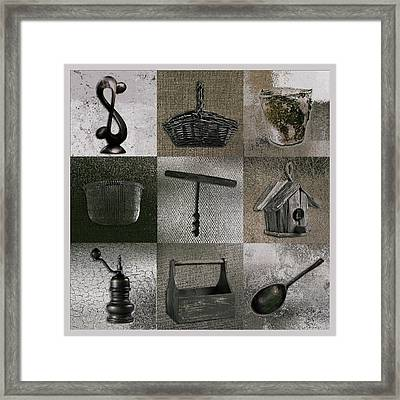 Multi Home Decor - 01v2f4c Framed Print by Variance Collections