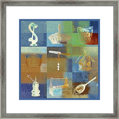 Multi Home Decor - Spmtc01fr03 Framed Print by Variance Collections