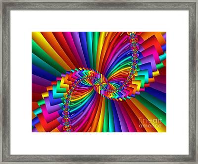 Multichrome 5 Framed Print