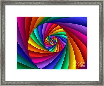 Multichrome  6 Framed Print