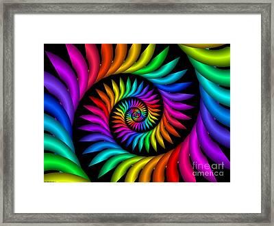 Multichrome  9 Framed Print