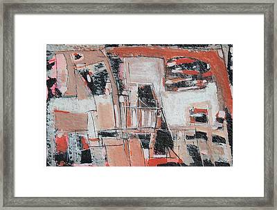 Multicultural World Framed Print by Hari Thomas