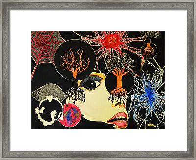 Multifaceted Framed Print by Daniel P Cronin