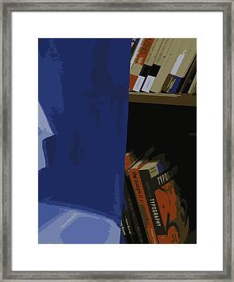 Multimedia Books Framed Print