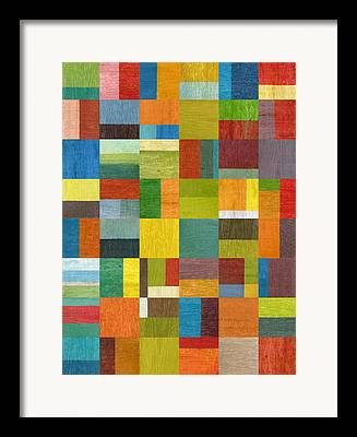 Abstract Style Framed Prints