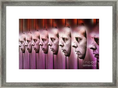 Multiple Personalities Framed Print by Bill Longcore