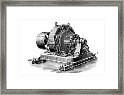 Multipolar Dynamo Framed Print by Science Photo Library