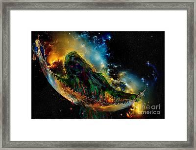 Multiverse Mystery Framed Print by Richard Mason