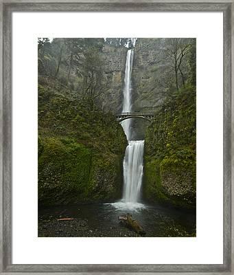 Multnomah Falls 0403131 Framed Print