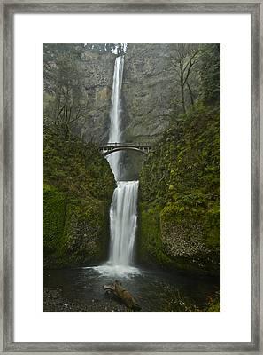 Multnomah Falls 0403131b Framed Print