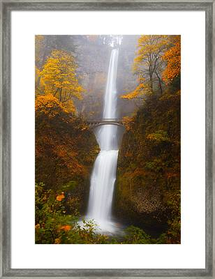 Multnomah Morning Framed Print