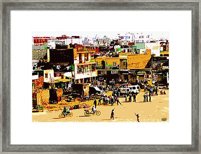 Mumbai Morning Framed Print