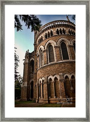 Mumbai University Framed Print