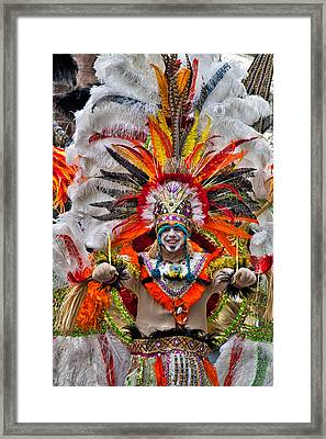 Mummer Wow Framed Print by Alice Gipson