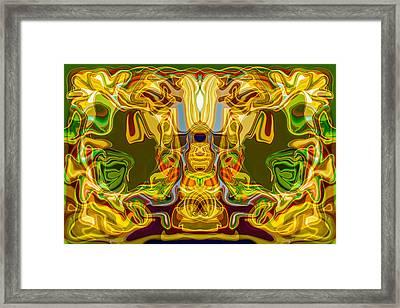 Mummified Framed Print by Omaste Witkowski