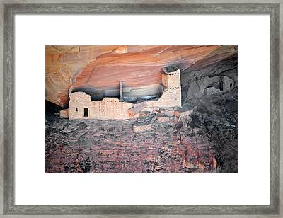 Mummy Cave Ruin Canyon Del Muerto Framed Print