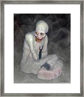 Mummy Dearest Framed Print by Brian Wallace